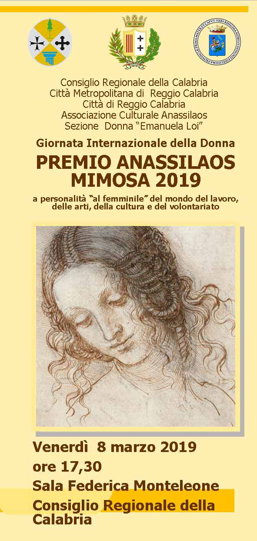 PREMIO ANASSILAOS MIMOSA 2019